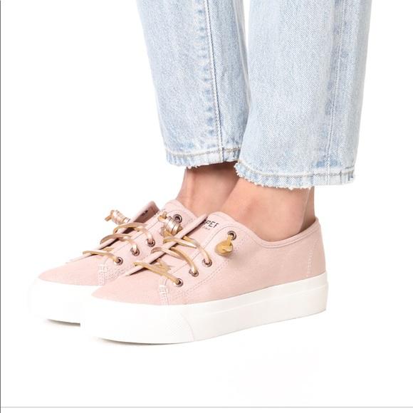 452364e240 Sperry Sky Sail Rose Metallic Sneaker Size 7. M_5aa6ff5fa4c485d03a579618